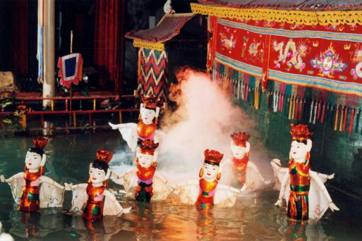 Enjoy Water Puppet Show